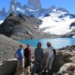 the famous Fitz Roy peak