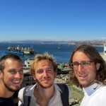 Valparaiso was a busy port city with steep streets to see it all from
