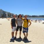 one of Montevideo's fine beaches