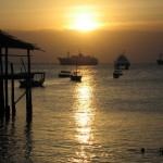 Stone Town, Zanzibar is a big fishing/port town in addition to being a tourist hot spot