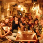 blurry picture of a blurry night- thanks Bariloche