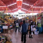 epic fruit aisle in a typical Peruvian mercado