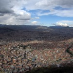 La Paz may be the highest capital, but it's still surrounded by mountains