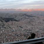 back through La Paz, once again