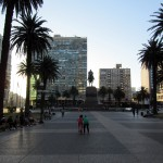 plaza de Independencia- a nice place to chill