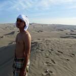 like a desert nomad