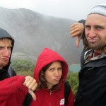duck's-face-thumbs-down to the volcaNO