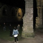 self-guided night tour of the abbey