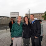 Berlin Wall photo bomb! awesome