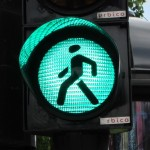 enthusiastic street crossings