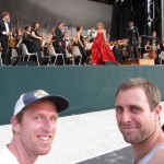 free symphony in the Tuileries Gardens