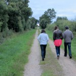 a walk to digest- always a good idea