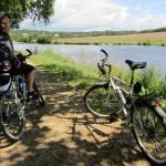 bike ride along the Nantes-Brest canal