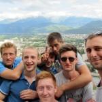 dream team atop the mountain