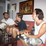 couch-surf jam session