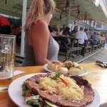 big Czech birthday meal (too big)
