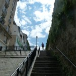 Marine's nice part of town- lots of stairs