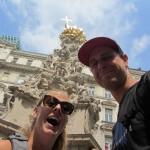 found a host in Vienna! well, he found us.