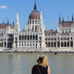 Budapest's parliament building on the river- simply stunning