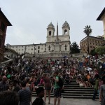 some Spanish Steps for all you Roman Holiday fans