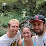 backwoods hiking