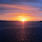 train ride sunrise