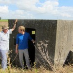 a pillbox- key to some WWII defensive strategies