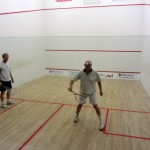 learning the ropes in squash