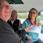 certified to drive the Spalding ferry- whoop!